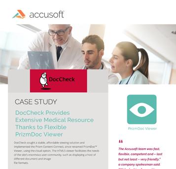 DocCheck Case Study