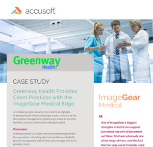 Greenway Health Case Study