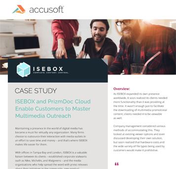 ISEBOX Case Study