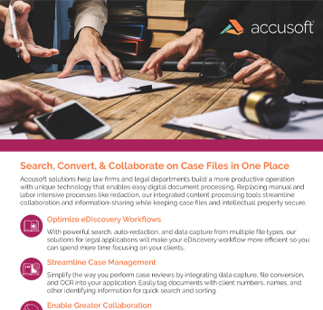 Legal Case Files Search Convert Collaborate