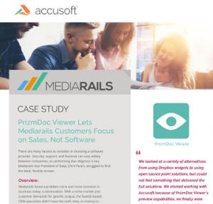 Mediarails Case Study