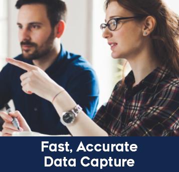 SmartZone: Fast, Accurate Data Capture