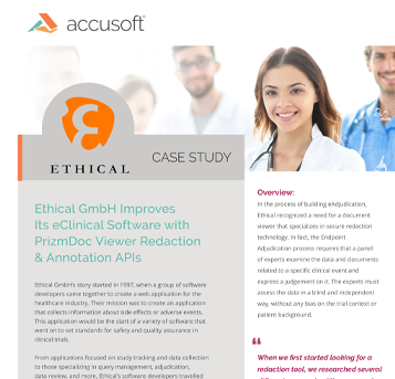Ethical GmbH Case Study