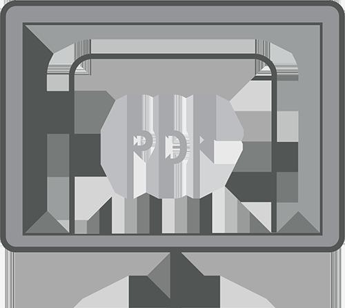 PDF Processing Icon