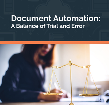 document automation balance of trial and error eguide