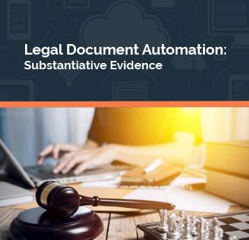 document automation substantive evidence eguide