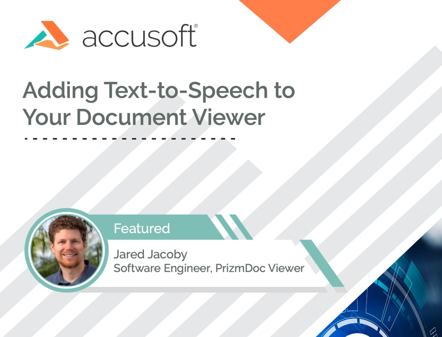 Adding Text-to-Speech to Your Document Viewer